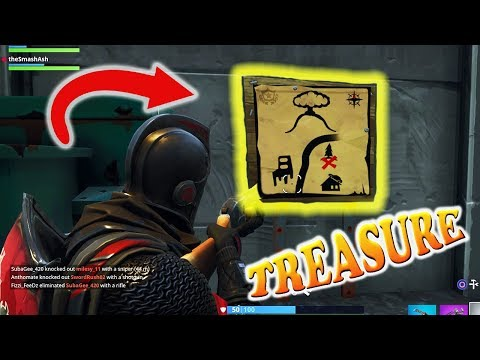 DUSTY DEPOT MAP & TREASURE LOCATION! Fortnite Battle Royal! NEW UPDATE Battle Pass Guide / Tutorial
