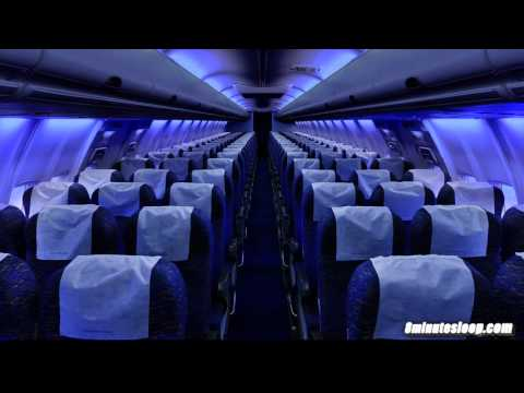 Airplane Cabin White Noise Jet Sounds | Great for Sleeping,