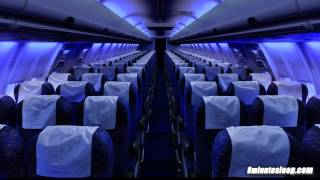 Airplane Cabin White Noise Jet Sounds | Great for Sleeping, Studying, Reading & Homework | 10 Hours thumbnail