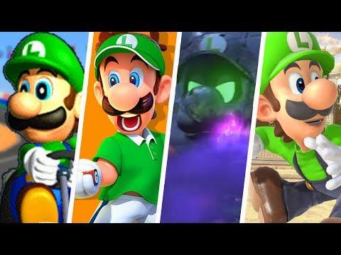 Ultimate Evolution Of Luigi's Voice In Super Mario Games (1996 - 2018)