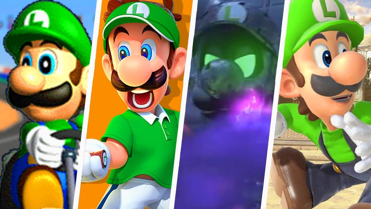 Ultimate Evolution Of Luigi S Voice In Super Mario Games 1996 2018