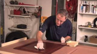 Staining JELD-WEN Fiberglass Doors
