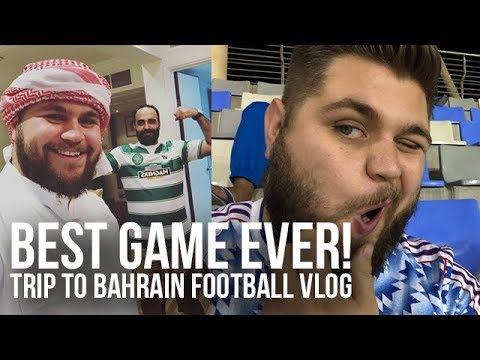Best Game Ever! Bahrain Trip Football Vlog
