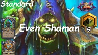 Hearthstone: Even Shaman #13: Boomsday (Projeto Cabum) - Standard Constructed