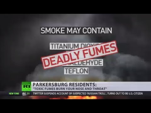 'Toxic fumes burn your nose and throat' - West Virginia residents on smoke danger