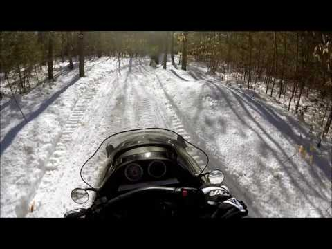 Snowmobile Otisfield Pipeline Trail