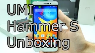 UMI Hammer S Unboxing & First Look - Cheap USB Type C Chinaphone - Metalbody + MTK 6735 [4K]