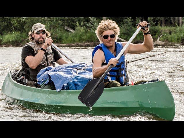 Mit Kanu und Gleitschirm am Beaver Creek 2