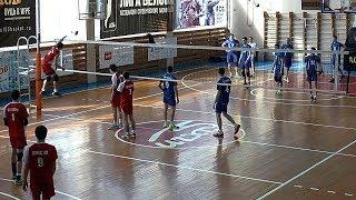 Студенческий волейбол. Нападающий удар. Команды ДГУ Махачкала и ПГУАС Пенза