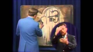 ASL - Christ At Door - Messages In Art, Artist Howard Baldwin