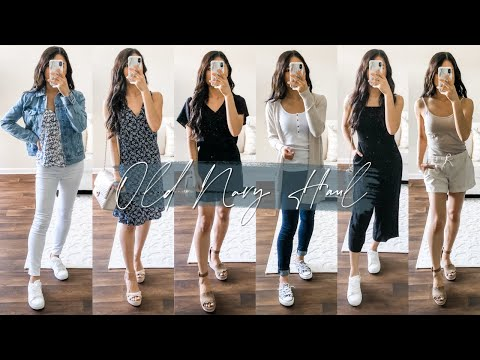OLD NAVY TRY ON HAUL | 50% OFF SITEWIDE