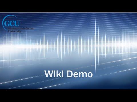 Wiki demo
