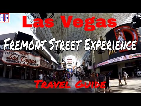 Las Vegas | Fremont Street Experience | Tourist Attractions | Episode# 5