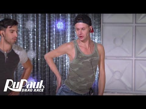 Trinity & Rizzo Rehearsal BONUS Clip   RuPaul's Drag Race Season 9   VH1