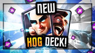 *NEW* INSANELY FAST HOG CYCLE | 80% WIN RATE | MAGIC ARCHER DECK!