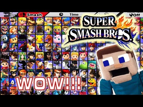 Super Smash Bros Ultimate Nintendo Switch E3 Full Reveal! Complete Roster New Fighters Amiibo 2018