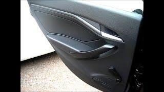 Установка колонок JBL CS752 на проставках RFR-N917 в задние двери автомобиля Лада Веста