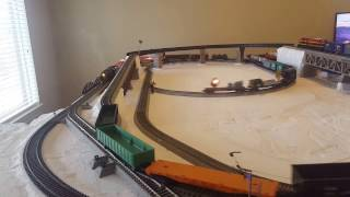 Testing my new S scale layout