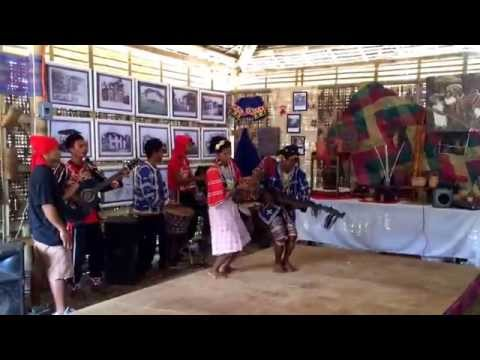 Tribal dance and song at Kaamulan festival
