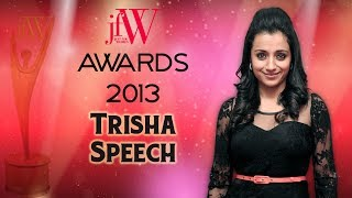 Madhavan is very Lucky | Trisha Speech at JFW awards | Excellence in Entertainment | JFW Magazine