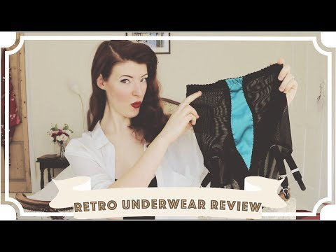 Retro Underwear: Try On & Review // Kiss Me Deadly