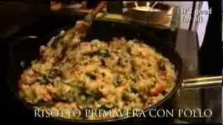 Risotto (rice) Primavera With Chicken (pollo) Part 2