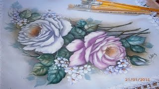 Pintando rosas parte 1