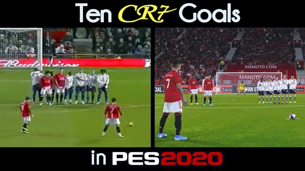 Download PES Recreation ►Cristiano Ronaldo 10 AMAZING Goals ⚽