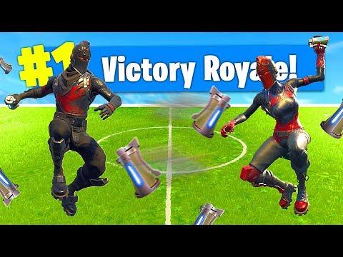*NEW* DODGEBALL Custom Gamemode In Fortnite Battle Royale thumbnail