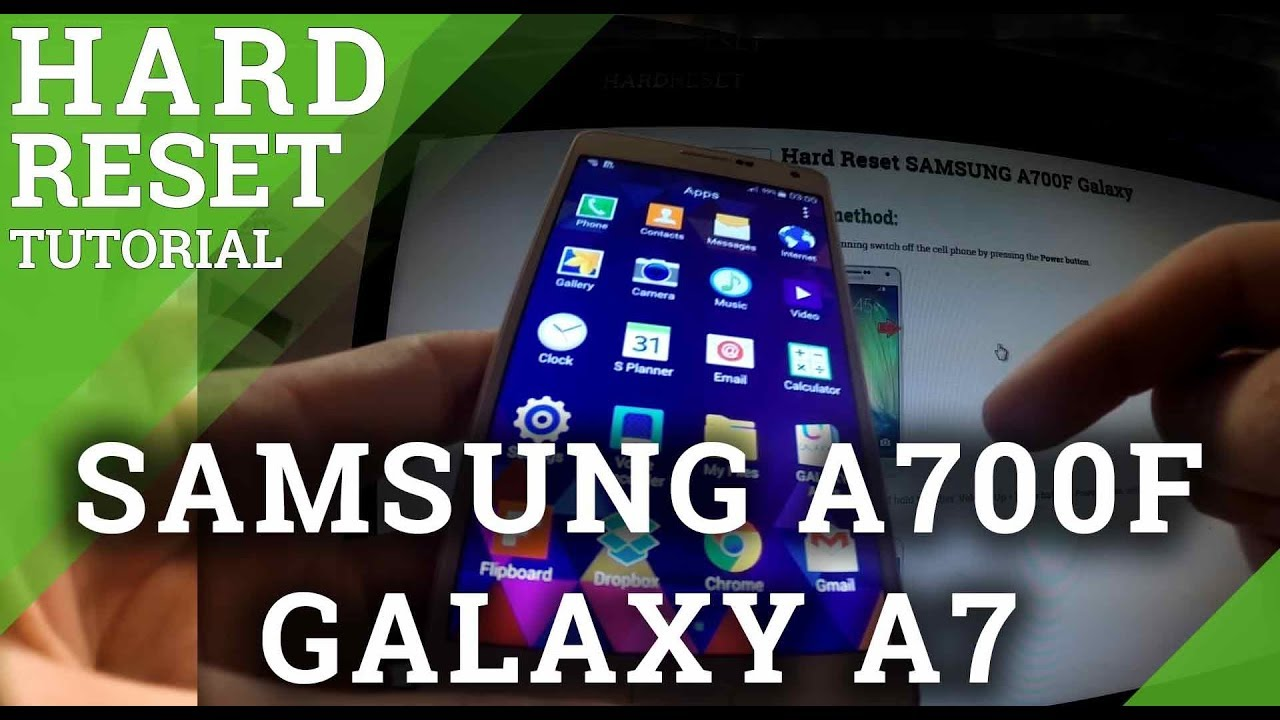 Hard Reset SAMSUNG G5510 Galaxy On5 - HardReset info
