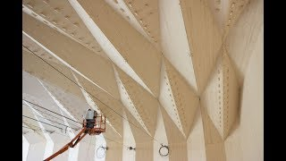 The Vidy Theater - A Double-Layered Timber Folded Plate Structure