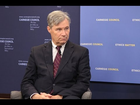Global Ethics Forum: Time to Wake Up with Sen. Sheldon Whitehouse