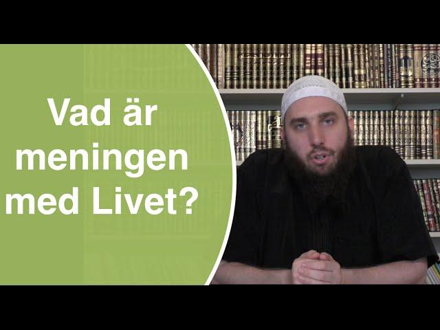 Vad är meningen med livet? | Abu Dawud