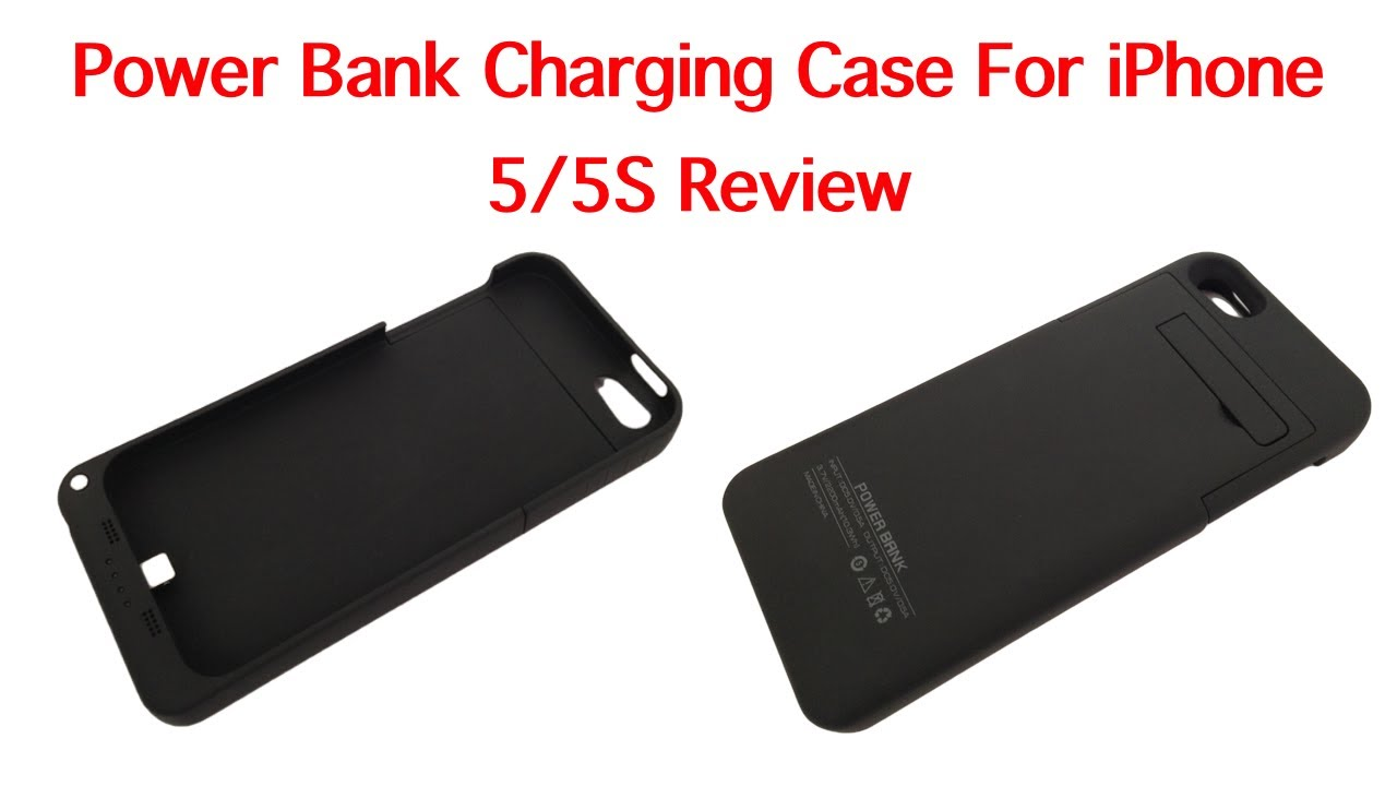 Power Bank Charging Case For 5 5s Review Youtube