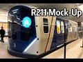 ⁴ᴷ New R211 Subway Car Mock-Up at 34th Street - Hudson Yards