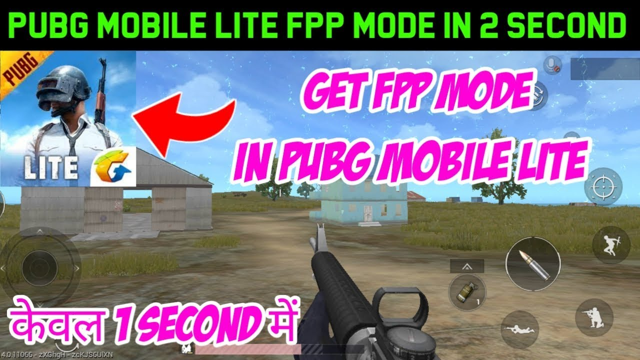 FPP Mode in PUBG Mobile Lite ...