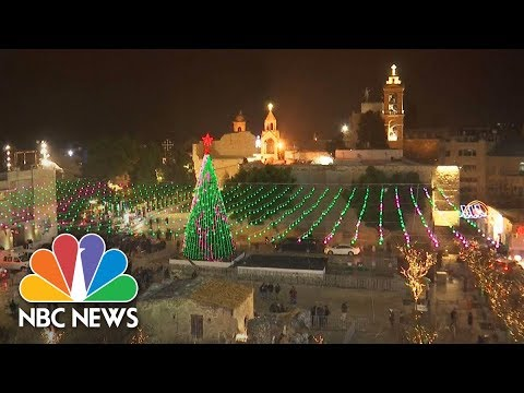 Watch live: Christmas Eve mass in Bethlehem