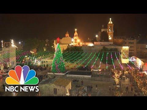 Christmas Eve Mass In Bethlehem | NBC News