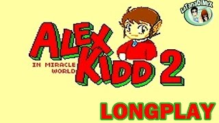 Alex Kidd In Miracle World 2 Sega Master System MOD HD