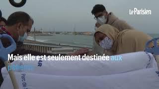 Espagne : un malade du covid-19 en soins intensifs recoit la visite de sa famille face à la mer