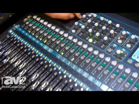 InfoComm 2016: Allen & Heath Reveals QU-24C Digital Mixer