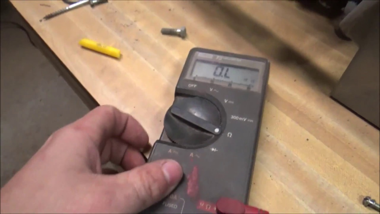 XR75 Stator Coil OHM Readings