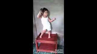 2 years old very talented baby dancing very adorable and cute