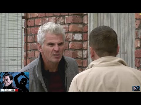 Coronation Street - Robert Destroys The For Sale Sign On The Bistro