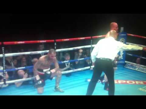 George Groves won vs Leon Mckenzie