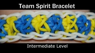 Rainbow Loom® Team Spirit Bracelet