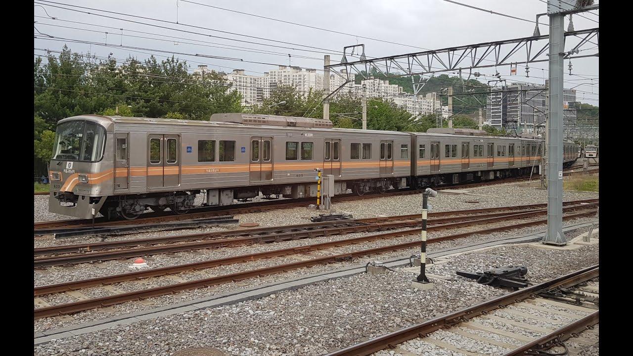 서울지하철 6호선 신내-응암-신내 주행영상(Seoul Line 6 Sinnae-Eungam-Sinnae)