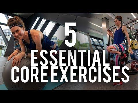 Five essential core exercises