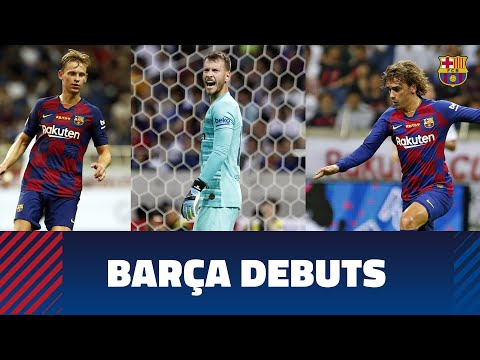 Griezmann, De Jong and Neto all make their first appearances as Barça players