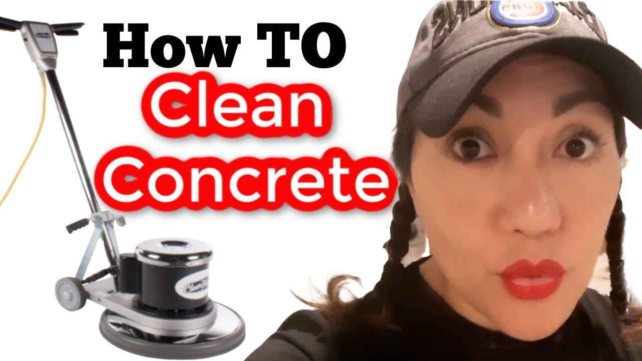 DIY: How to Clean Concrete Basement Floor before applying Epoxy